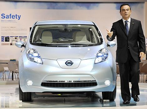 Nissans Ceo Makes The Case For Evs At 2009 Tokyo Motor Show