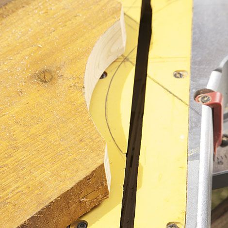 If you're short a miter saw, a simple 45-degree clip off the bottom of each  end is elegant and can be done accurately with a circular saw and Speed  Square. - How To Design And Cut Signature Rafter Tails For A Pergola