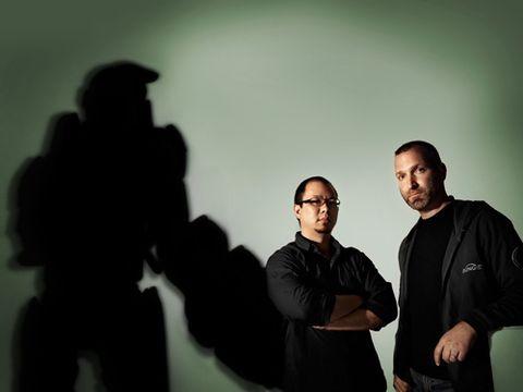 Halo Reach executive producer Joseph Tung and creative director Marcus Lehto