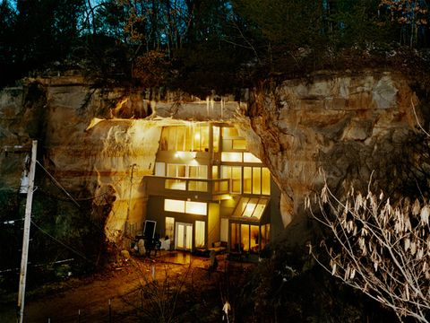 underground cave home. Cave House Backyard Genius Family Home Built in a  DIY