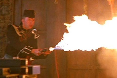 Bagpipe Flamethrower, <em>The World Is Not Enough</em> (1999)