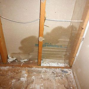 Removing Soggy Drywall In 8 Not So Easy Steps