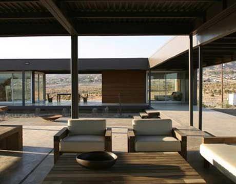 Interior Shot Of Modern Desert House Prototype By Marmol Radziner  Architects. Prefab, Green Home