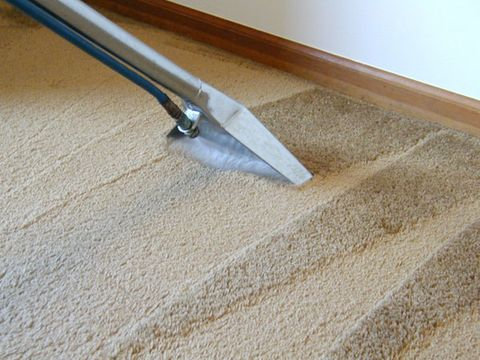 image. Cleaning the carpet ...