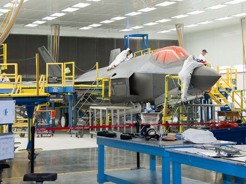 Aerospace engineering, Machine, Engineering, Industry, Service, Factory, Aircraft, Science,