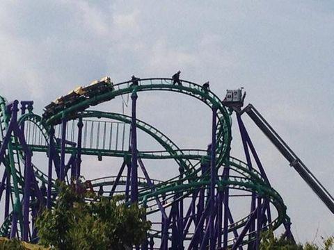 Nature, Roller coaster, Daytime, Sky, Green, Infrastructure, Photograph, Amusement ride, Iron, Summer,