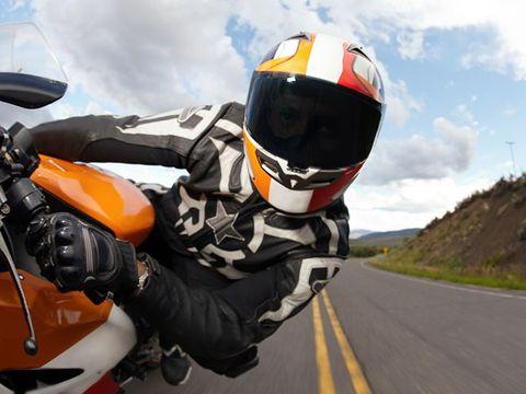 Rides a motorcycle my boyfriend Is it