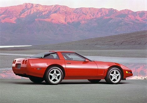 In Spite Of The Improvements Zr1 Production Ended 1995 With A Grand Total 6939 Cars Built From 1990 Through End