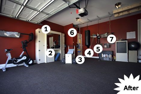 How to turn your garage into a gym