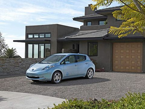 Nissan Leaf Facts Electric Car Facts