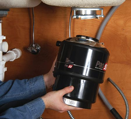 Garbage Disposal Repair & Installation - How to Replace Your ... on