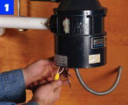 garbage disposal repair installation how to replace your garbage rh popularmechanics com Hard Wiring Garbage Disposal Switched Outlet Wiring Garbage Disposal