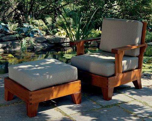 Outstanding Build A Cedar Chair And Ottoman Cjindustries Chair Design For Home Cjindustriesco
