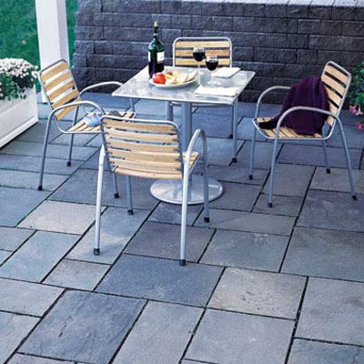 A Traditional Flagstone Patio Can Be Great Addition To Just