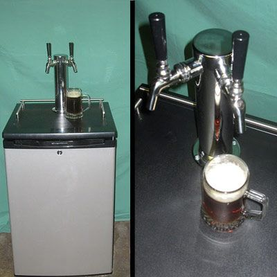 DIY Kegerator - Draft Beer Fridge