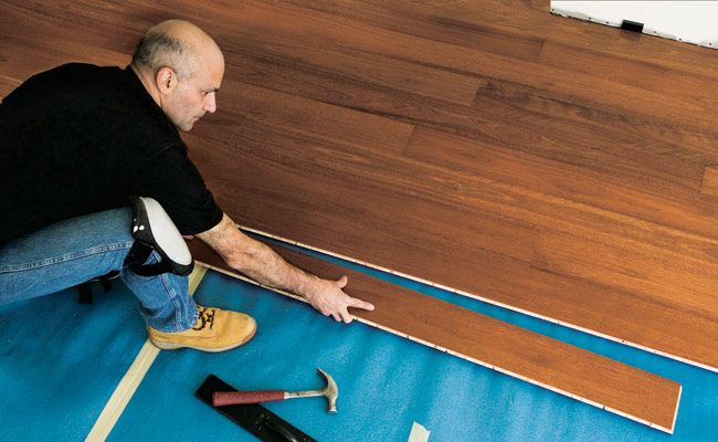 How To Install A Hardwood Floor | How To Build A Hardwood Floor This Weekend