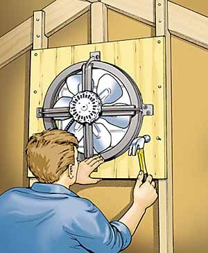 You may not spend much time thinking about attic ventilation but if you own your own home you owe it to yourself to give the subject serious thought.  sc 1 st  Popular Mechanics & Attic Fan Installation - How to Install an Attic Fan