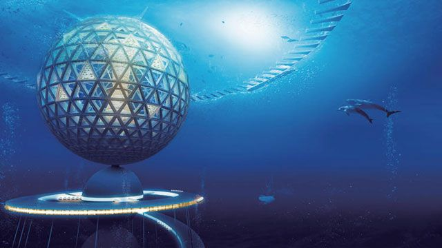 This Japanese Company Wants to Build a Submersible City on the High Seas