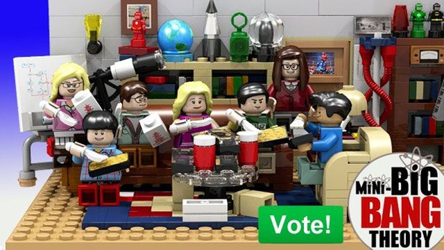 The Big Bang Theory\'s Official LEGO Set Features Sheldon and ...