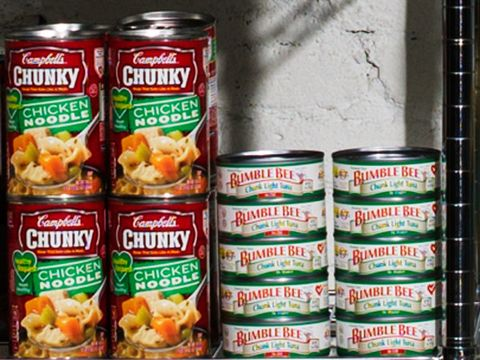 Aluminum can, Tin can, Metal, Tin, Food storage, Cylinder, Paint, Beverage can, Produce, Convenience food,