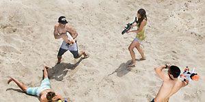 Arm, Leg, Fun, People, Human body, Sand, Photograph, Leisure, Mammal, Summer,