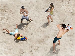 Arm, Leg, Fun, People, Human body, Sand, Photograph, Leisure, Mammal, Summer,