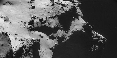 Up-Close Shots of the Comet Rosetta Is Chasing