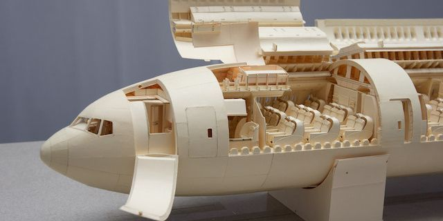This Boeing 777 Made Of Manila Folders Is Almost As