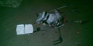 drug drone crash