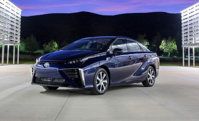 This Is Toyota's New Hydrogen Fuel Cell Car