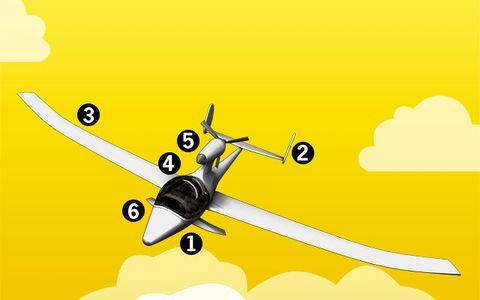 Airplane, Aircraft, Yellow, Aviation, Air travel, Aerospace engineering, Propeller, General aviation, Propeller-driven aircraft, Flight,