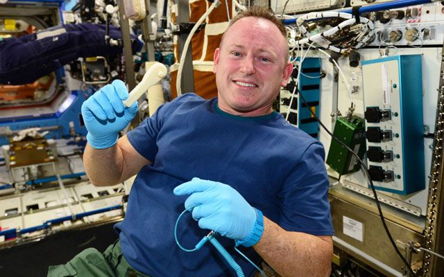 This ISS Wrench Is the First Tool 3D Printed in Space