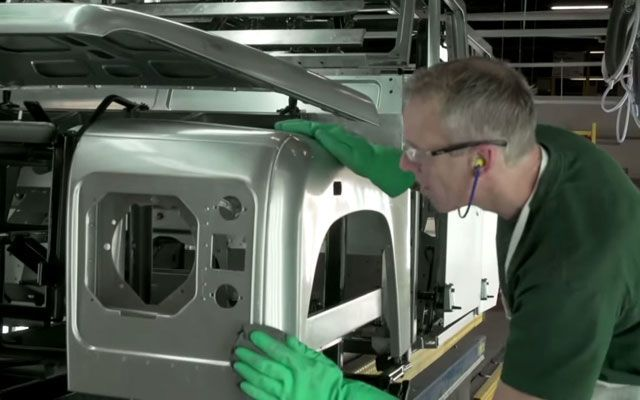 The Strange Beauty of Watching Land Rovers Assembled by Hand