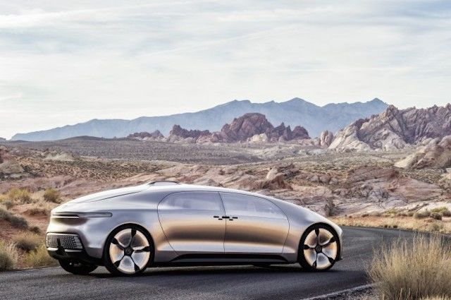 Mercedes' Far-Out Concept Is the Luxury Car of the Future
