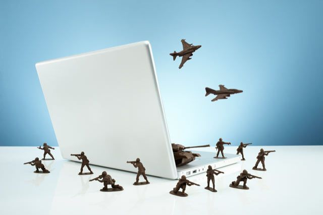 How Scared Should You Be of a Cyberwar?