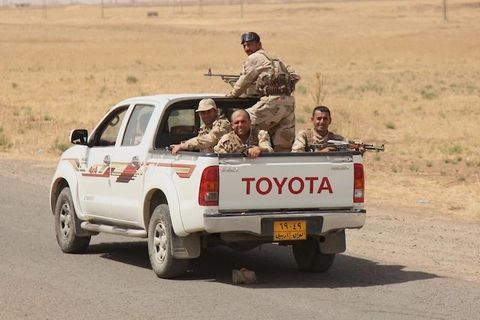 Kurdish Peshmerga forces seize the control of Kirkuk where Iraqi army forces and Islamic State of Iraq and the Levant (ISIL) had clashes.