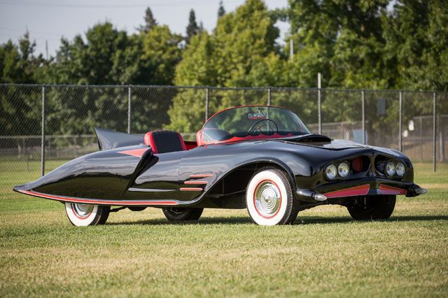 The Long-Lost Original Batmobile Is Up for Sale