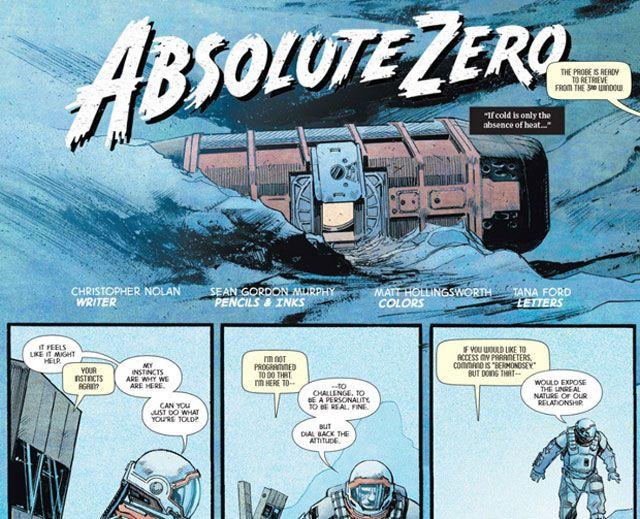 Christopher Nolan Wrote a Comic Explaining That Interstellar Scene