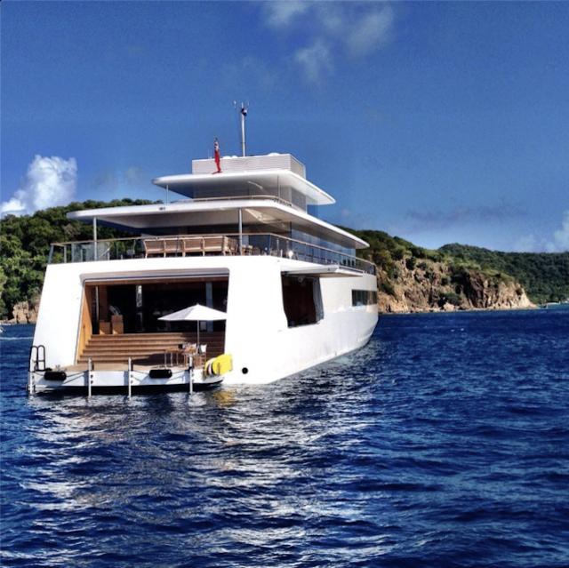 Here's the Dream Yacht Designed for Steve Jobs