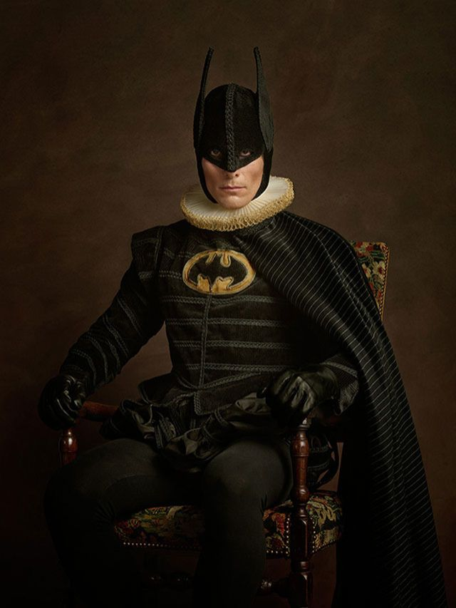If Famous Superheroes and Villains Appeared in 16th-Century Flemish Paintings