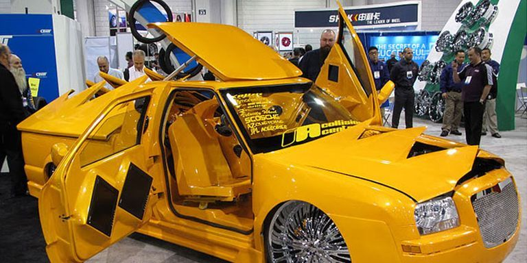 the ugliest cars at sema 2011