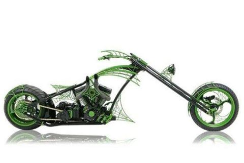 "Orange County Choppers' ""Dream Bike"""