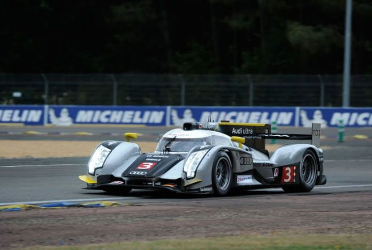 Peugeot metal sign Le Mans Michelin tire