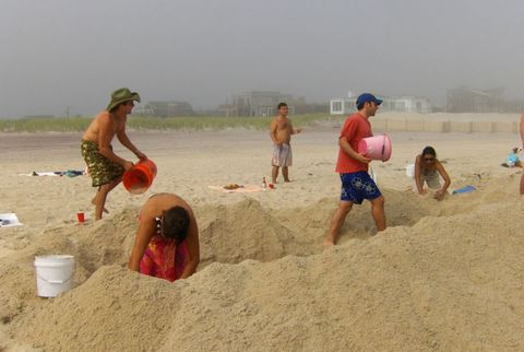 Sand, Fun, Summer, People in nature, Vacation, Beach, Holiday, People on beach, Back, Barefoot,