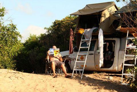 Shade, Sand, Bermuda shorts, Village,