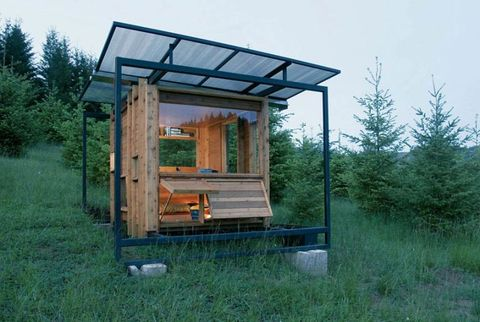 watershed house small eco cabin