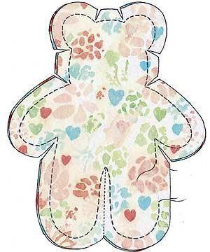 Super Cute Soft Toy Teddy Sewing Pattern