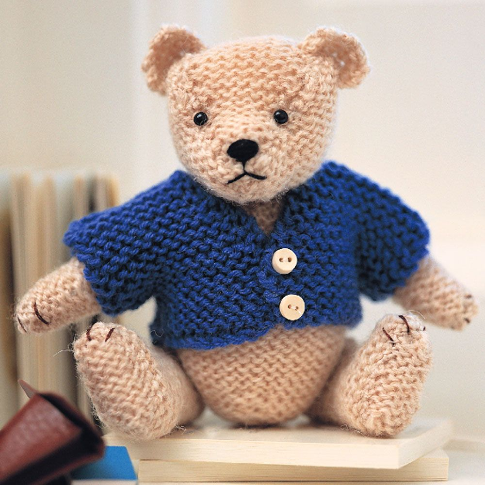 Teddy Bear Pattern Easy Steps To Knit A Teddy Bear Tedsby is a place where teddy bear's fans can buy and sell handmade teddy bears and other stuffed animals made by classical teddy technique. teddy bear pattern easy steps to knit