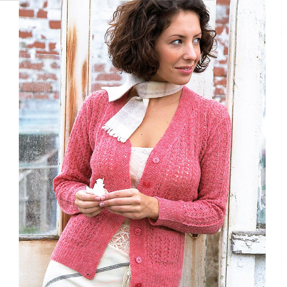Traditional Shetland Style Cardigan To Knit
