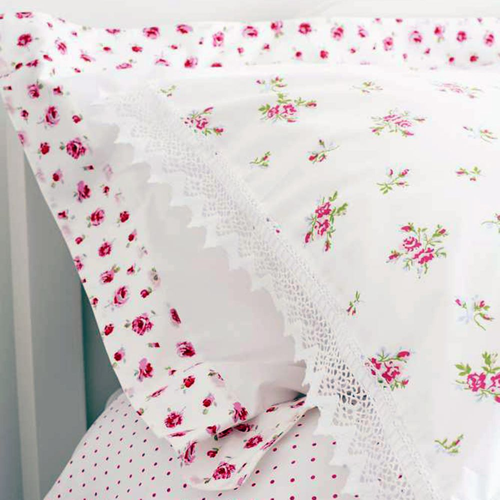 Sew Five Pillow Cases Together to